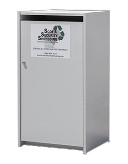 Office Paper COntainer for Shredding Executive Model