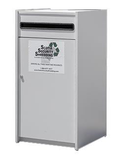 flip top paper bin for office shredding
