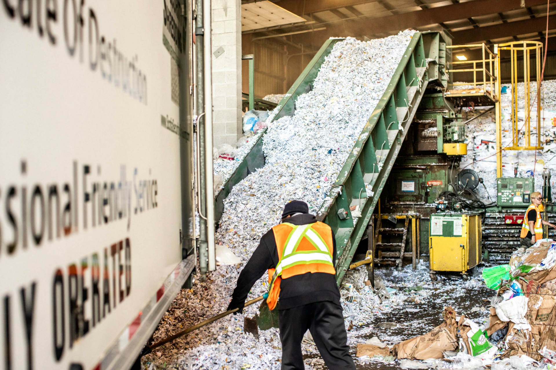 secure document shredding what we do